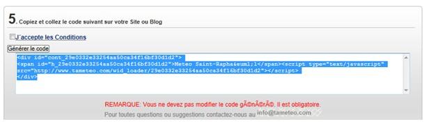 HTML, widget, tutoriel