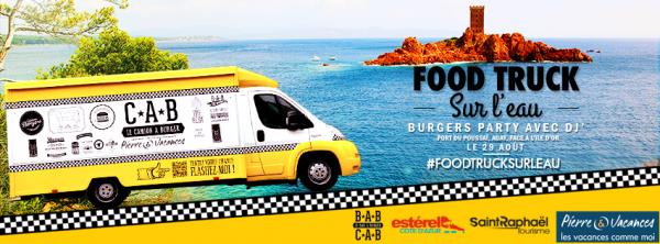 #FoodTruckSurLeau by Pierre & Vacances